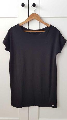 Mohito tunika bluzka krótki rękaw czarna S