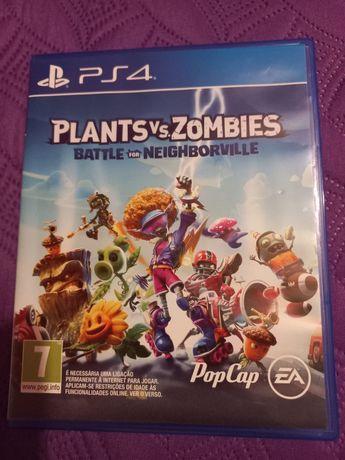 Jogo playstation Plantas Vs Zombies