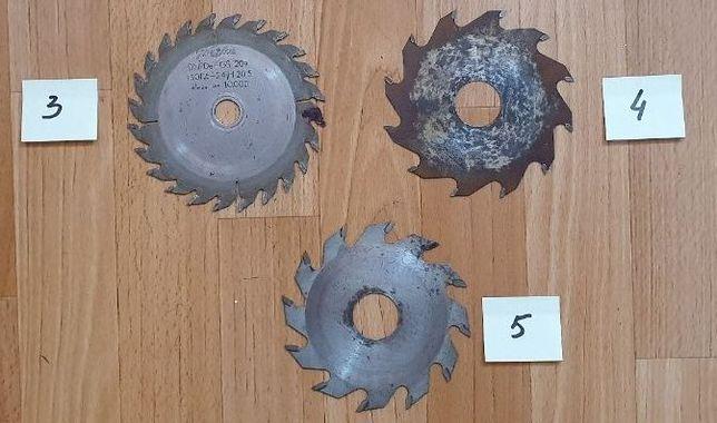 Piły tarczowe z węglikami Globus 130, 125 mm (kpl)