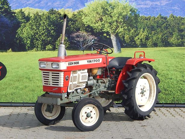 mały traktorek Yanmar YM1700 traktor sadowniczy