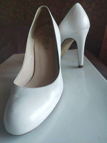 Кожаные туфли braska 38p