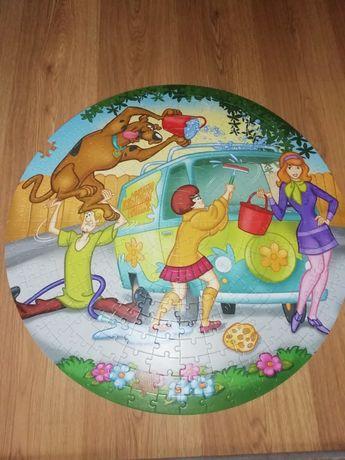 Puzzle 300 okrągłe scooby doo okrągłe Trefl