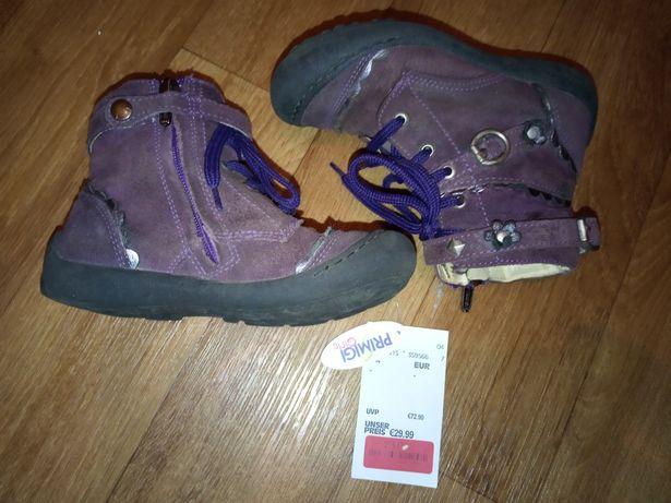 PRIMIGI Сапоги, полусапожки, ботинки осенние, замш/кожа, 17 см