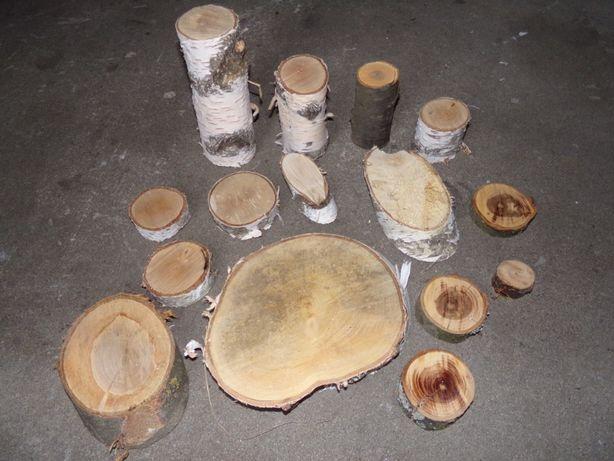 kpl. drewnianych podkładek