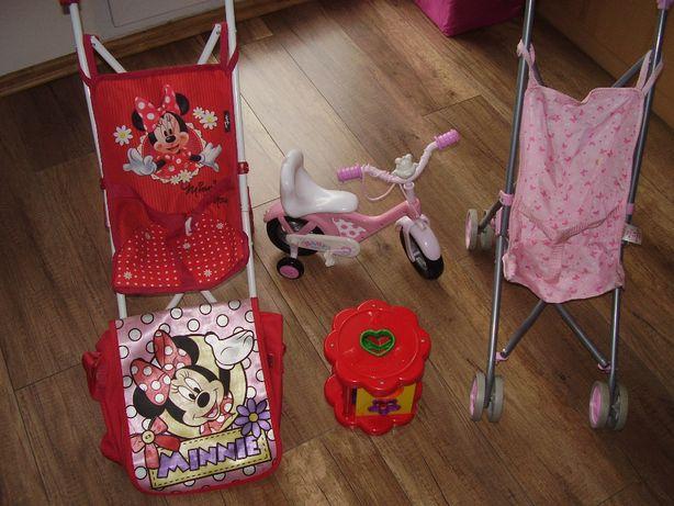 Wózek i zabawki