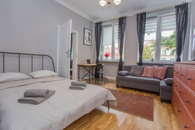 Apartament w Śródmieściu Sienkiewicza 1 (Możliwość kwarantanny)