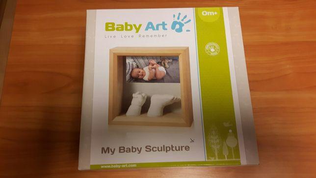 Baby Art ramka odcisk rączki nóżki 3D