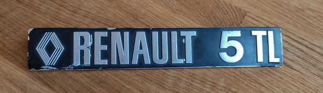 Renault 5 TL - znaczek