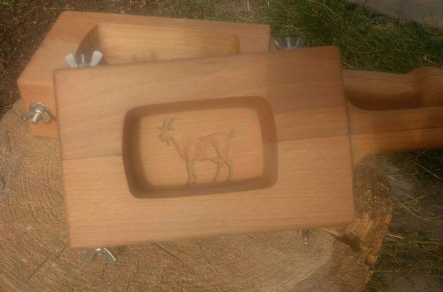 Дерев'яна форма для вершкового масла