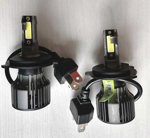Лампы светодиодные Н4 12 V главного /пара света 72 W/10000 LM ГАРАНТИЯ