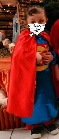 Strój kostium Super Man 3-5 lat