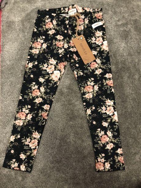 Spodnie legginsy newbie 104 nowe
