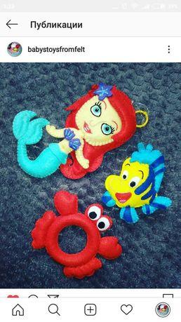 Іграшки з фетру ручної роботи