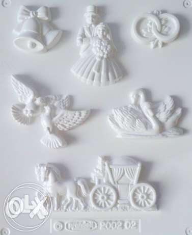 Forma do odlewów gipsowych NOWA figurki weselne