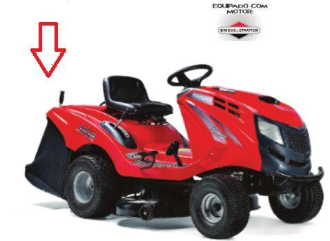 TCR102 Tractor Corta Relvas 102cm 17,5Cv Briggs&Stratton