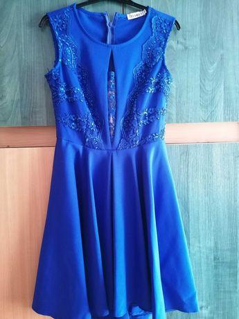 Sukienka modrakowa