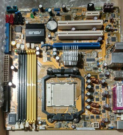 Материнская плата сокет AM2+ Asus M2A-VM держит Phenom II DDR2