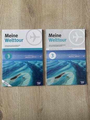 Książki : Meine Welttour 3 książka i Ćwiczenia