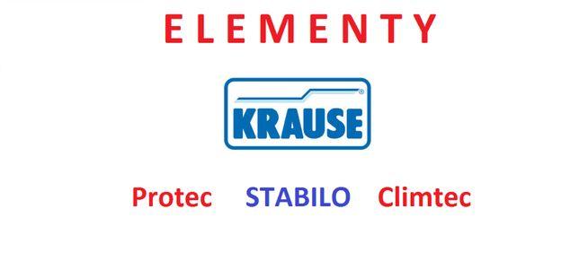 ELEMENTY do rusztowań aluminiowych KRAUSE Stabilo, Protec, Climtec