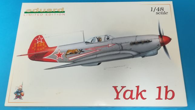 1/48 Yak-1b Eduard Limited Edition