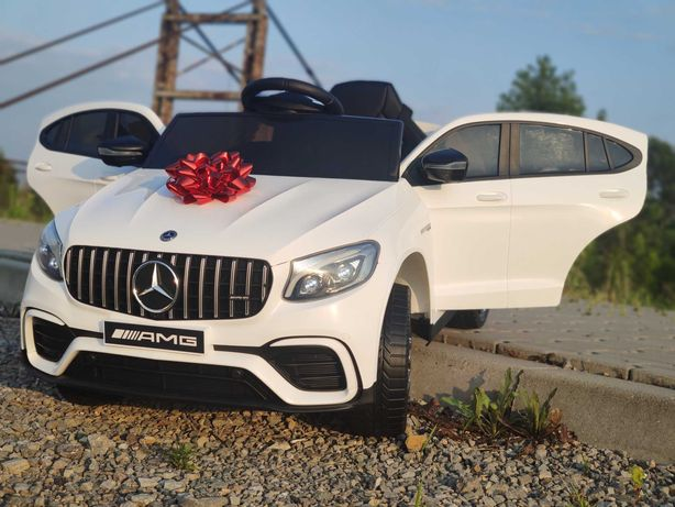 PROMOCJA! Mercedes GLC 4x45W auto na akumulator + PILOT MP3 LED