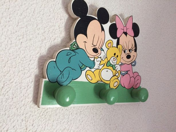 Cabide criança Mickey e Minnie