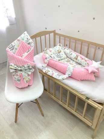 Кокон для ребёнка и одеяло- конверт