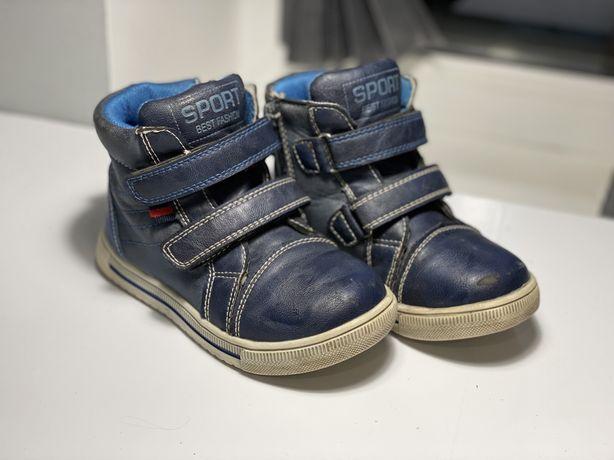 Продам Б/у дитячі осінні ботинки 26 розмір « Солнце»