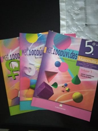 Matemática 5.º ano - Mat100Dúvidas - Sebenta volume 1, 2 e 3