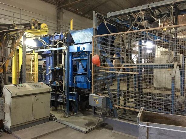 Продам автоматичну лінію для виробництва бруківки та бетонних виробів
