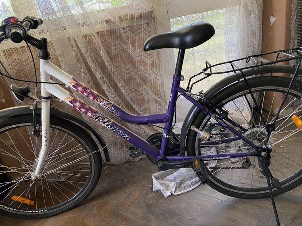 Rower młodzieżowy,dla dziewczynki dziewczęcy
