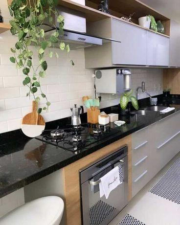 Cozinhas modernas da fabrica.