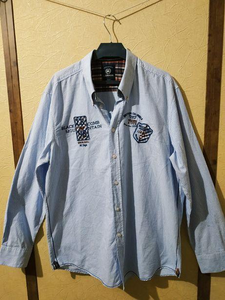 Рубашка немецкого бренда Lerros, изготовлена во Вьетнаме. 100% хлопок,