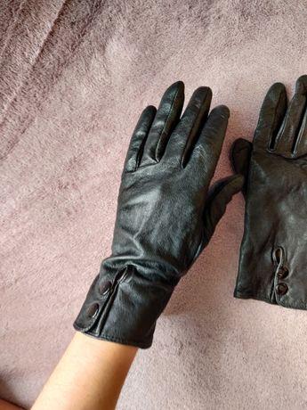 Перчатки под кожу кожаные