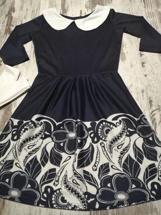 Платье трикотажное деми новое, нюанс подросток Киев - изображение 1