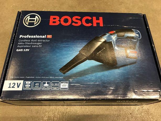 OBI Bosch Akumulatorowy odkurzacz GAS 12V.