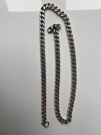 Srebrny Łańcuch łańcuszek męski 52 gramy