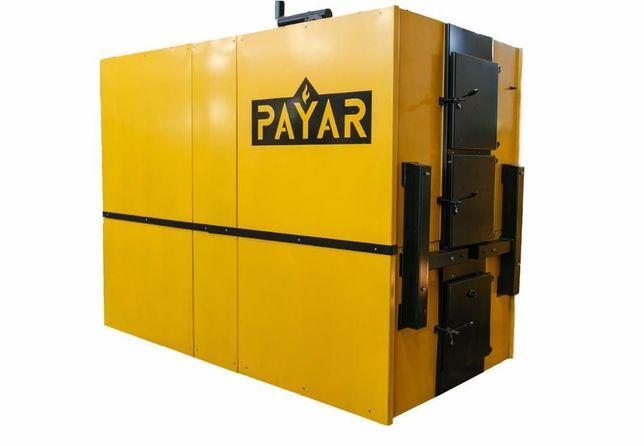 котел 630 кВт твердотопливный пиролизный 630 кВт промисловий