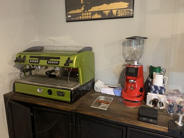 Аренда кофемашины+кофемолка