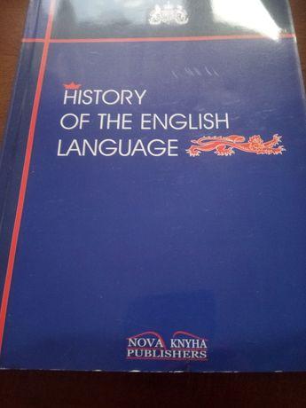 History of the English Language.
