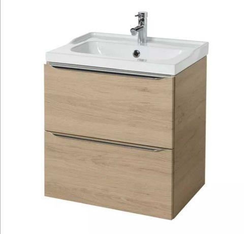 Szafka pod umywalkę Imandra drewno