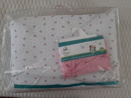 Постельный комплект в детскую кроватку 120х60