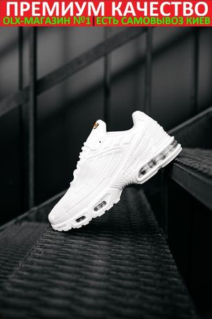 Кроссовки Nike Air Max TN Plus 3 White Мужские/Женские