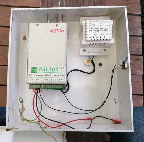 moduł - nadajnik radiowy alarmu w obudowie