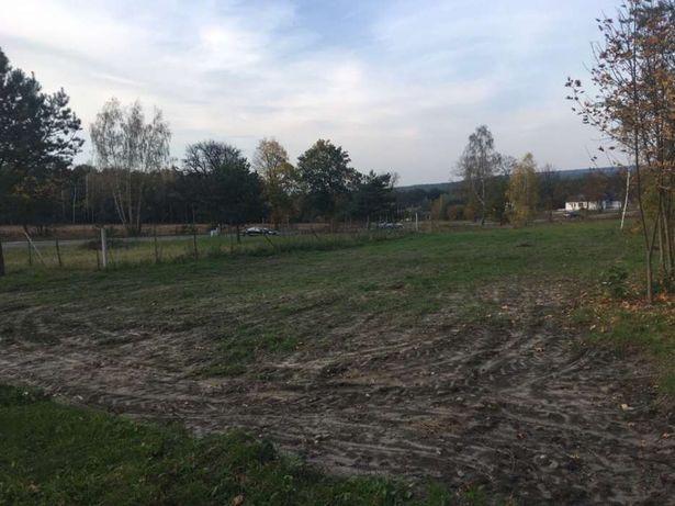 Działka budowlana w Borkowie przy lesie na sprzedaż