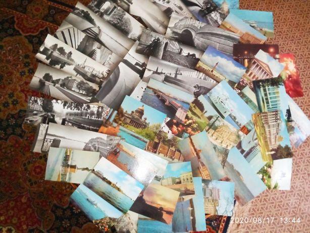 Старый Питер в 2-х наборах ( 71г.)-40 и 15 панор-х фото