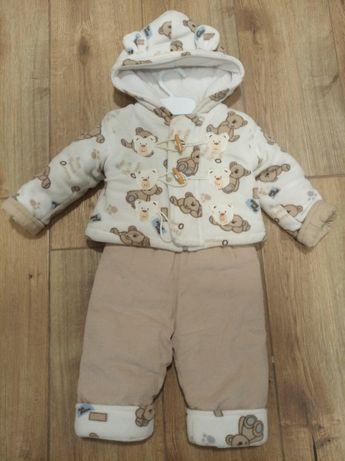 Zimowy zestaw kurteczka+spodnie dla chłopczyka lub dziewczynki
