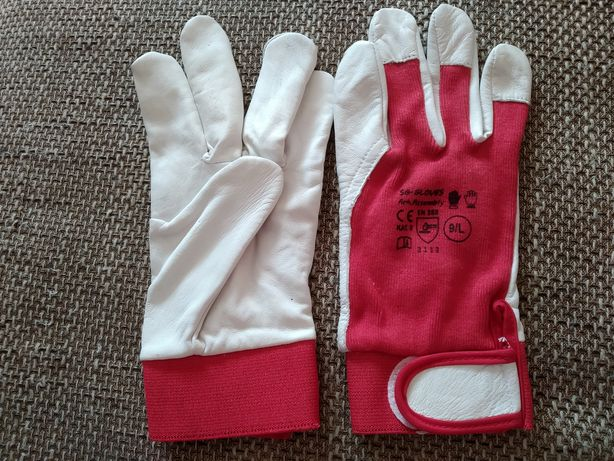 Rękawice ochronne r. 9   2 PARY