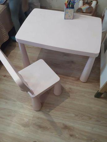Детская мебель, дитячий стіл, стульчик, IKEA