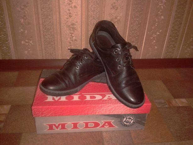 Туфли для мальчика, школьные, демисезонные, размер 38